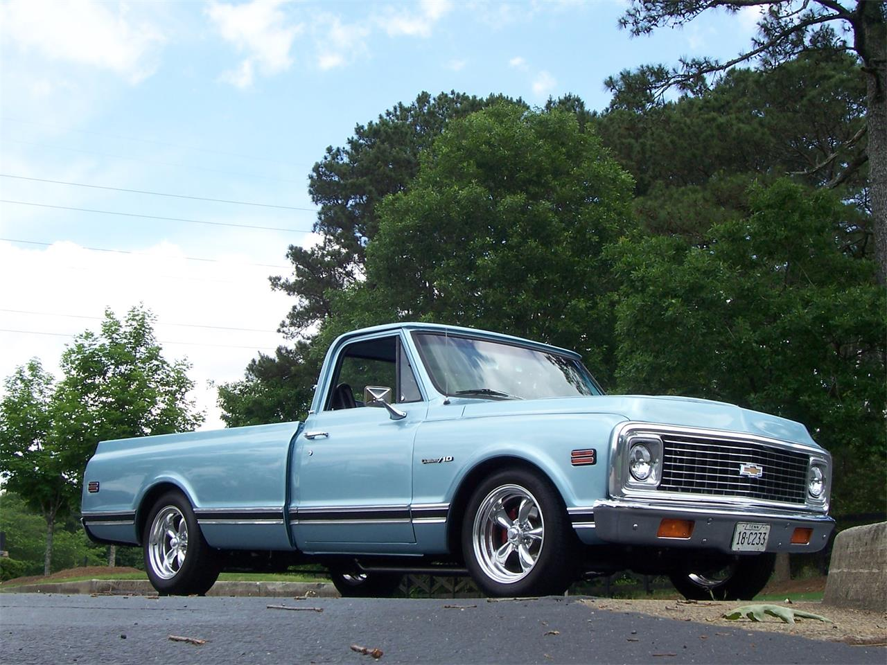 Large Picture of Classic '71 Chevrolet C10 located in Alpharetta Georgia Offered by Cloud 9 Classics - Q2D1
