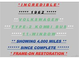 Picture of 1962 Volkswagen Bus - $59,950.00 - Q2DH