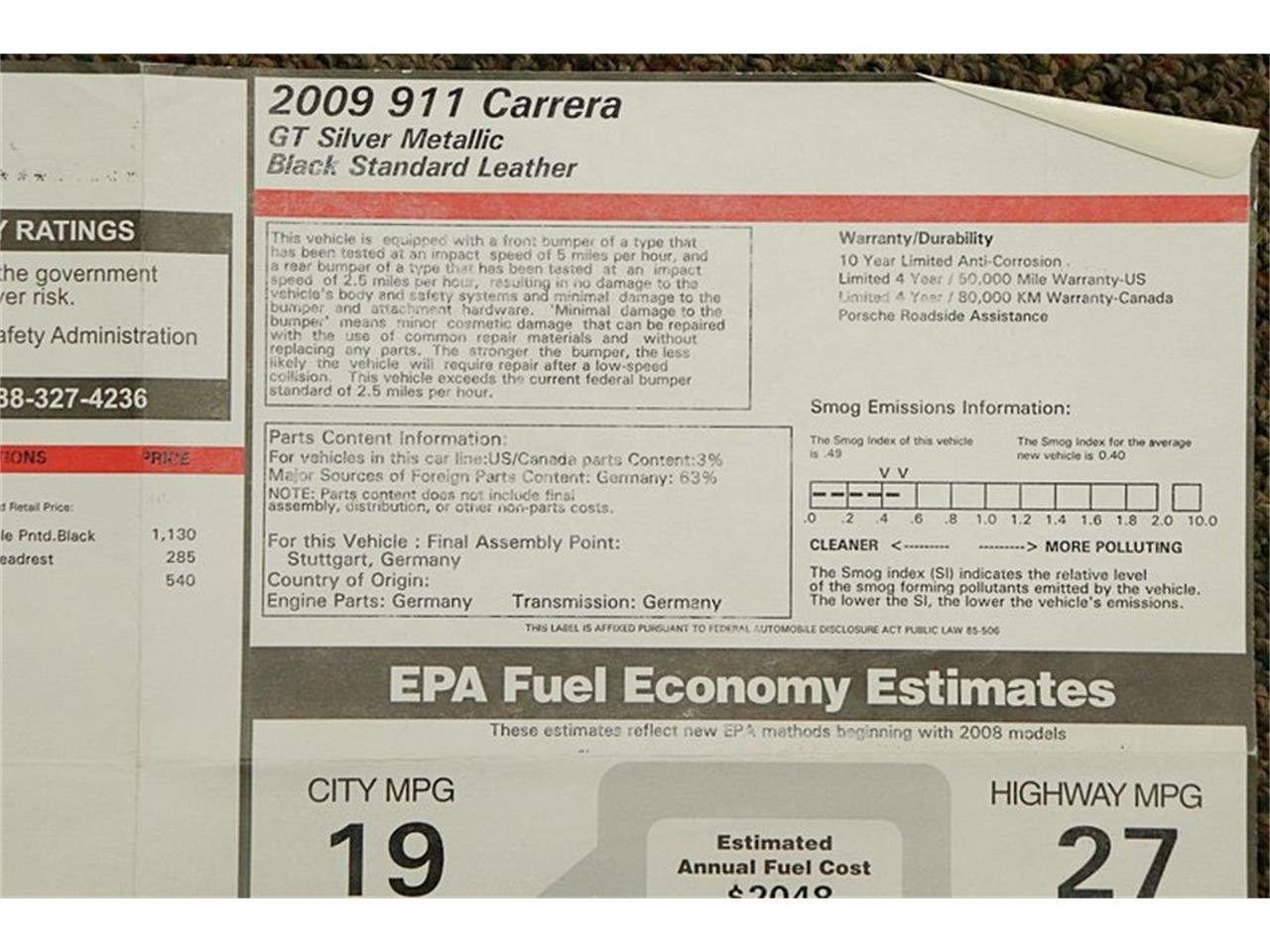Large Picture of '09 911 - $35,900.00 - Q2EE