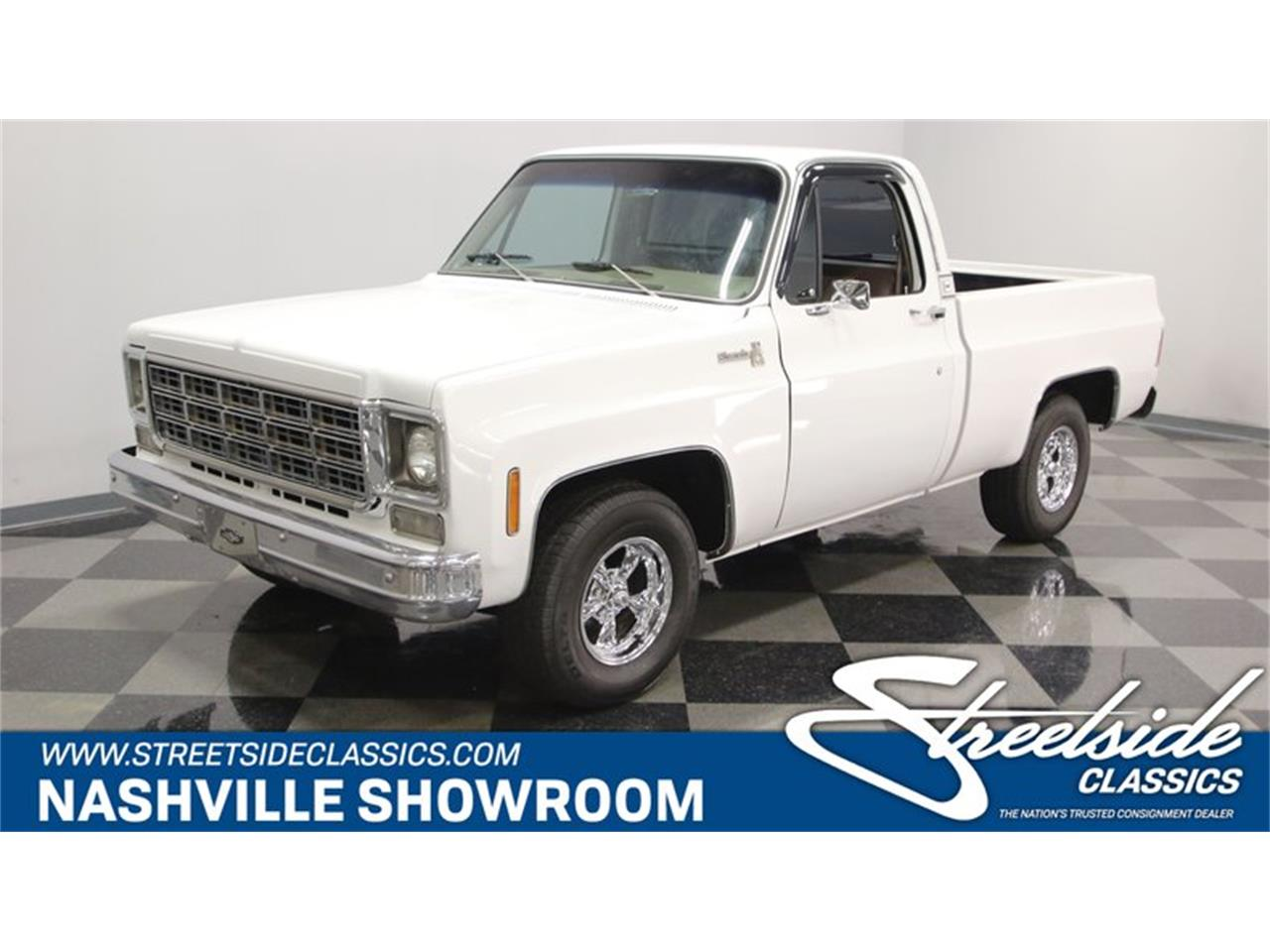 Large Picture of '77 Chevrolet C10 located in Lavergne Tennessee Offered by Streetside Classics - Nashville - Q2EP