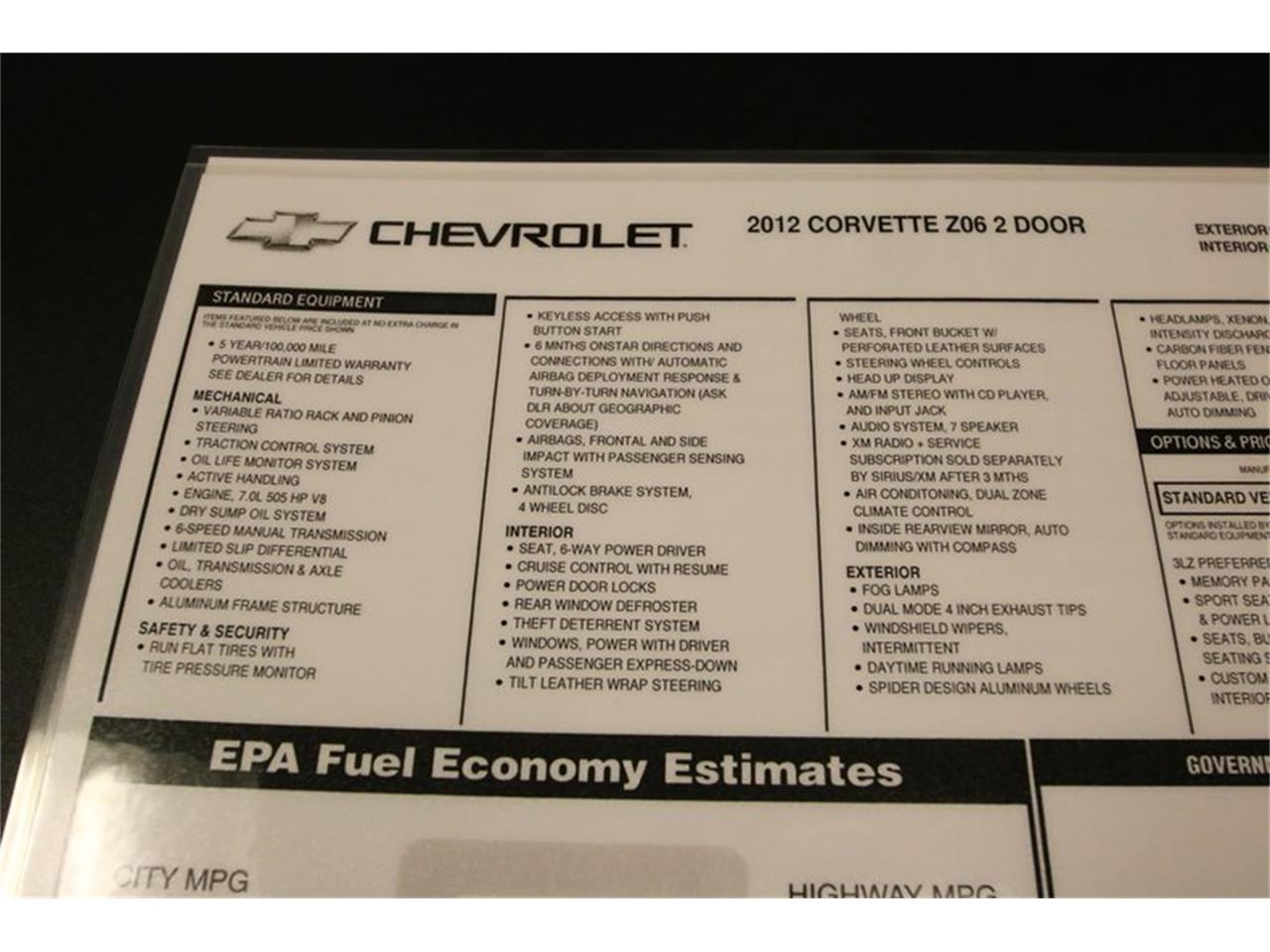 For Sale: 2012 Chevrolet Corvette in Lavergne, Tennessee