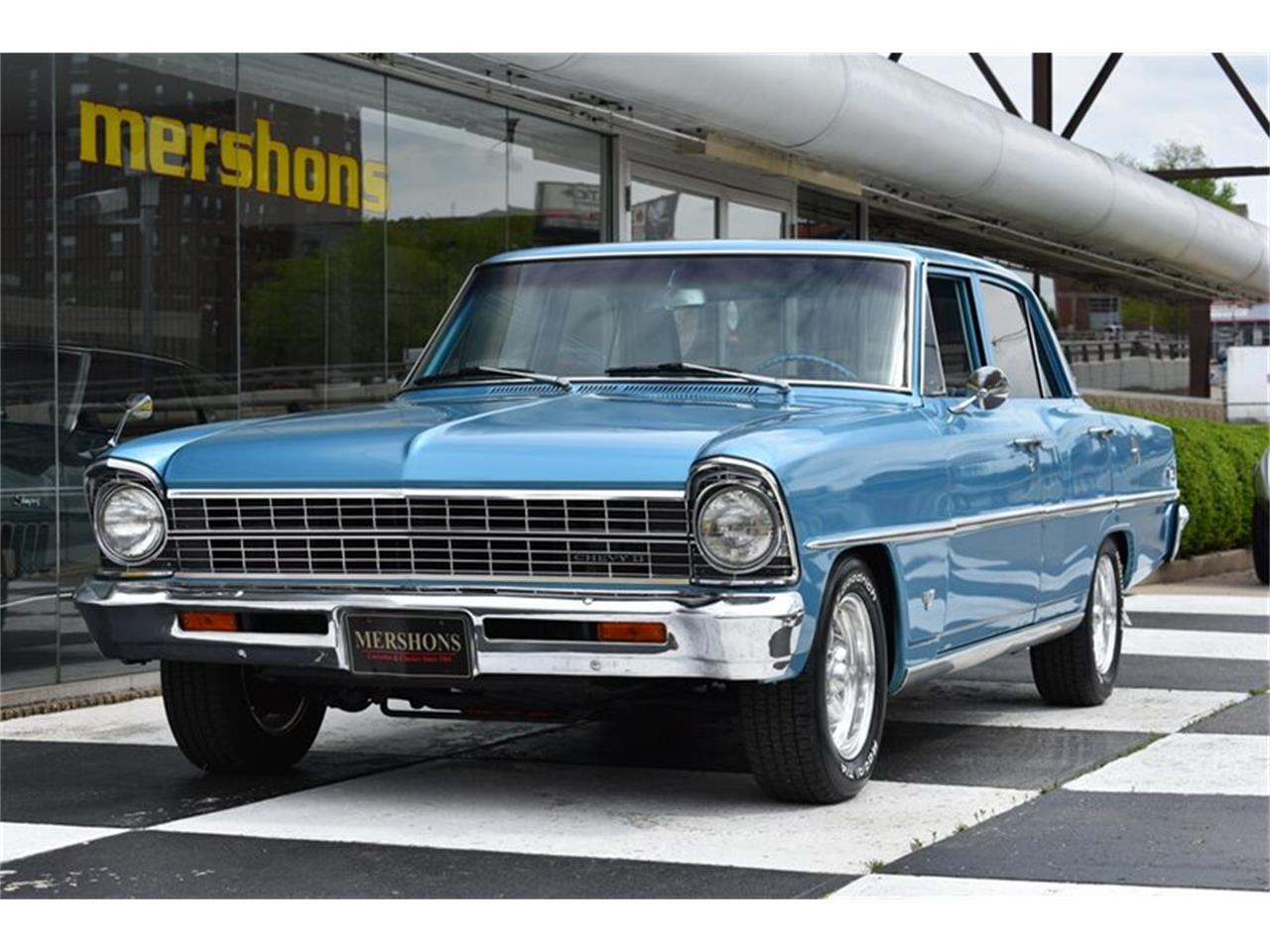 Large Picture of 1967 Chevrolet Nova located in Springfield Ohio Offered by Mershon's - Q2I5