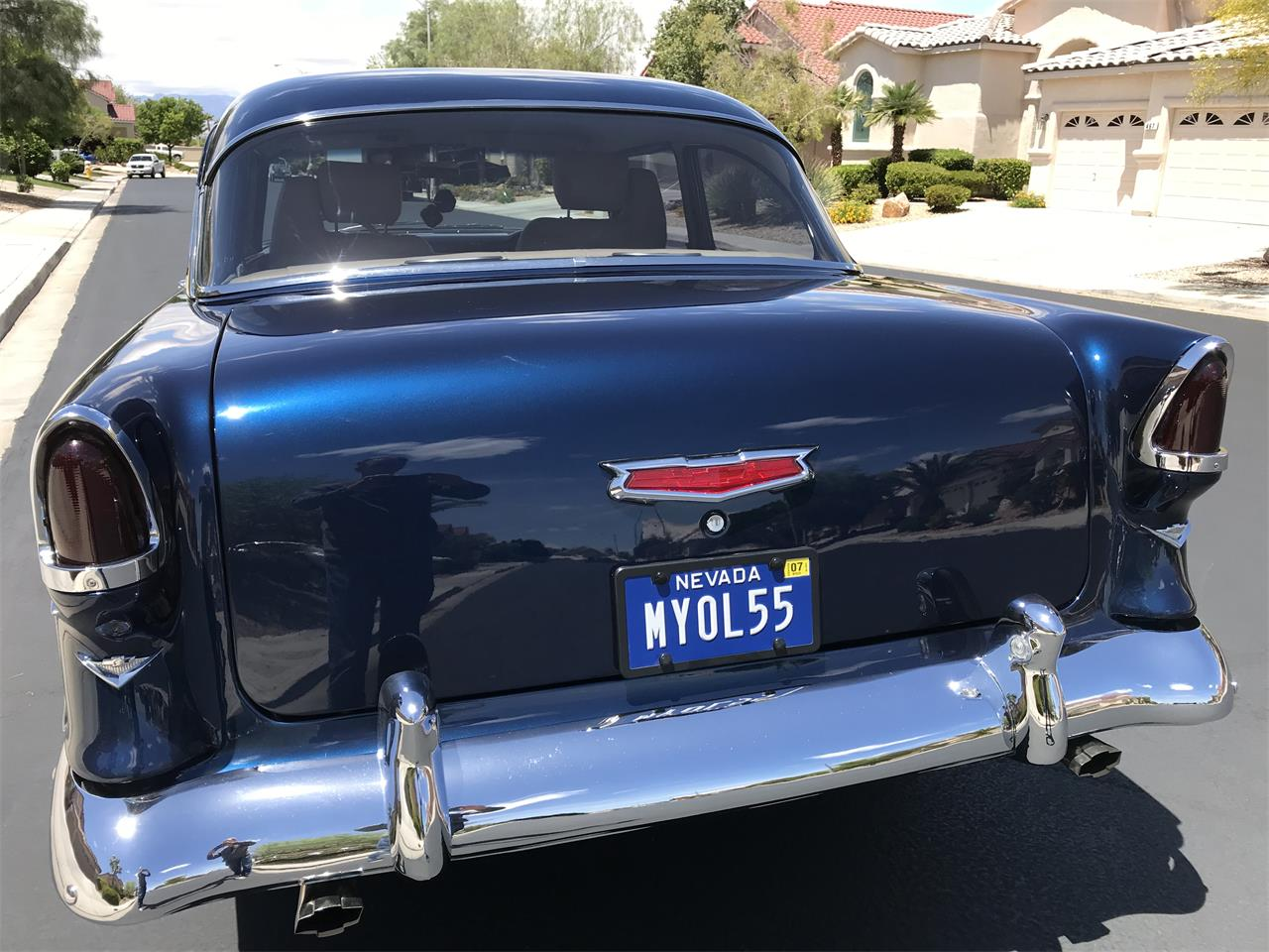 Large Picture of '55 Chevrolet Bel Air located in HENDERSON Nevada - $55,000.00 - Q2K1