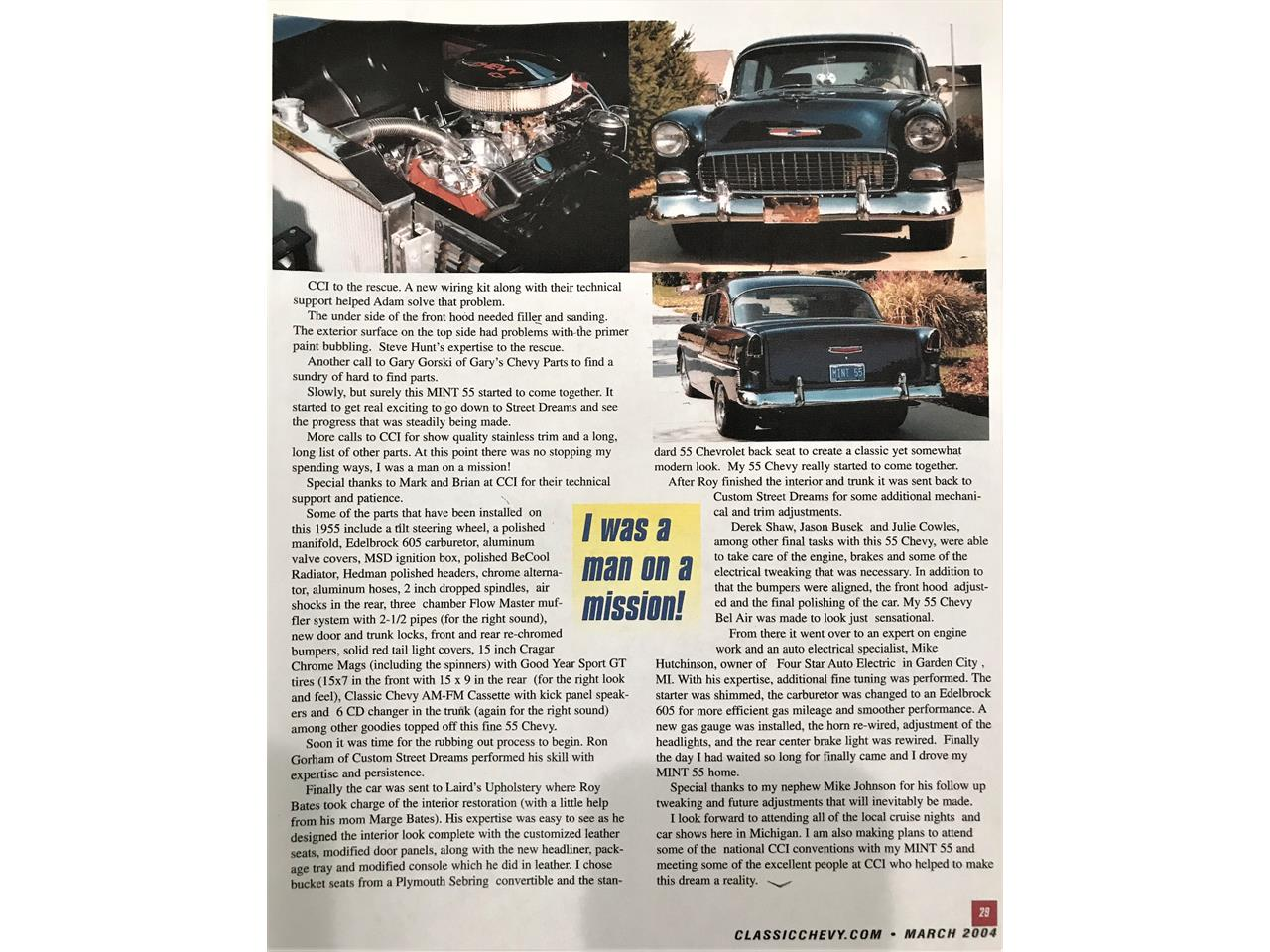 Large Picture of 1955 Chevrolet Bel Air - Q2K1