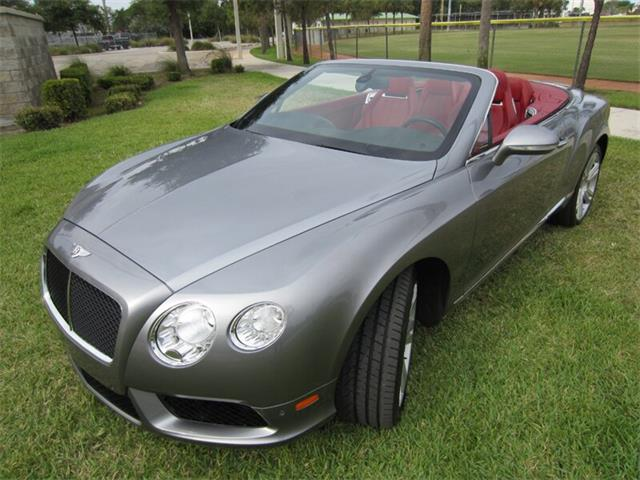Picture of '13 Bentley Continental GTC V8 located in Florida Offered by  - Q2NG