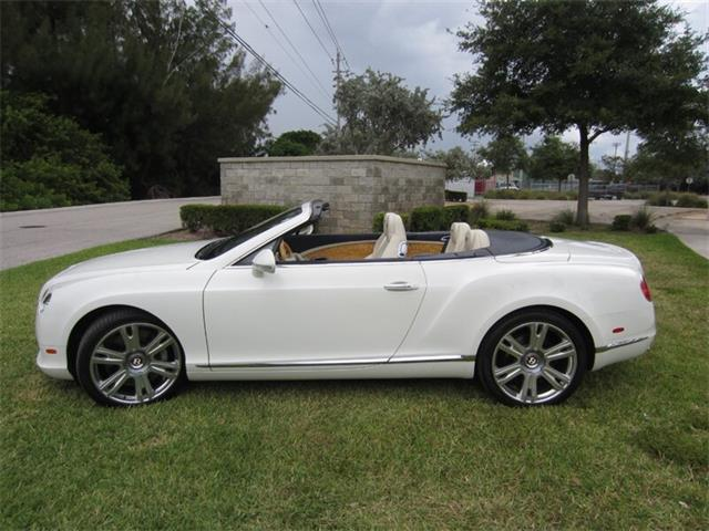 Picture of '13 Bentley Continental GTC V8 - $102,400.00 Offered by  - Q2NI