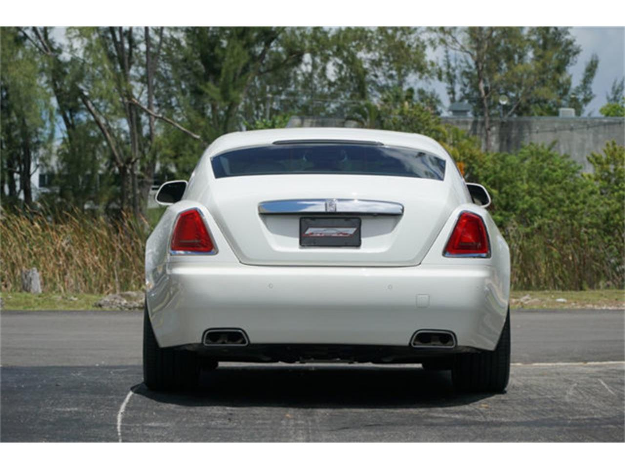 Large Picture of 2016 Rolls-Royce Silver Wraith located in Miami Florida - Q2NQ