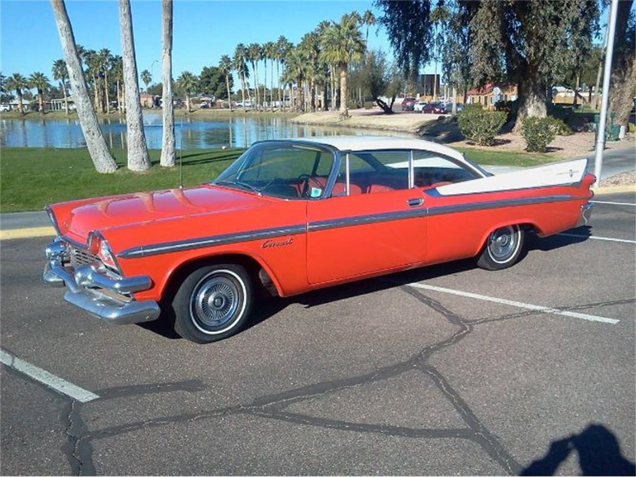 Large Picture of Classic 1958 Dodge Coronet located in Cadillac Michigan - $23,495.00 Offered by Classic Car Deals - Q2PI