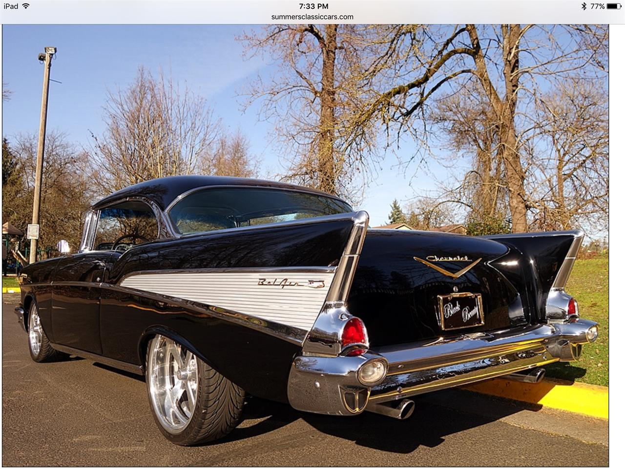 Large Picture of 1957 Chevrolet Bel Air located in Connecticut - $79,000.00 Offered by a Private Seller - Q2Q9