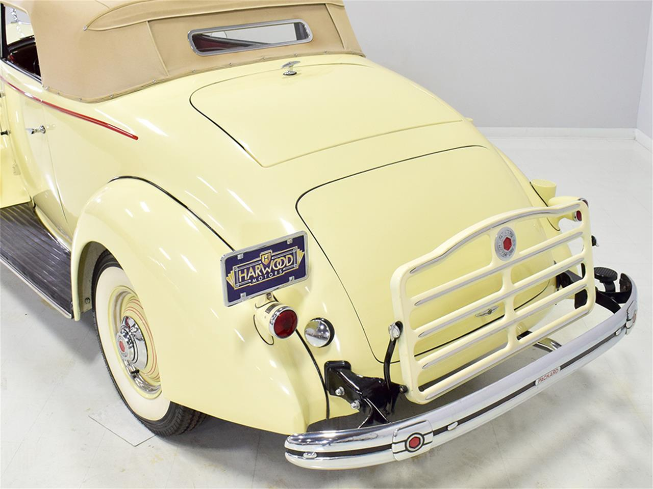 Large Picture of Classic 1936 Packard 120 located in Ohio Offered by Harwood Motors, LTD. - Q2QC