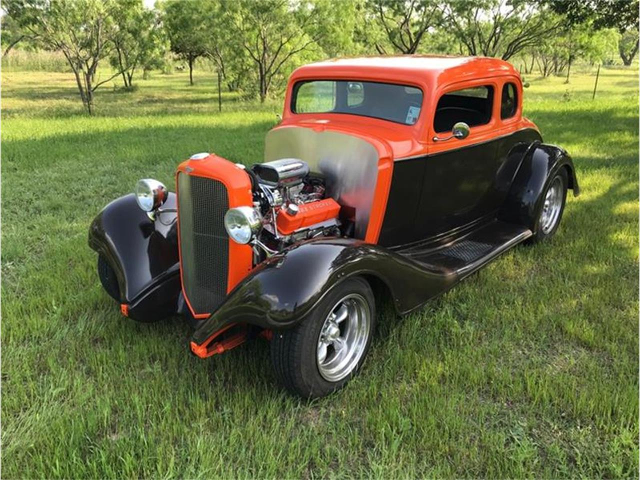 Large Picture of 1933 Chevrolet 5-Window Coupe Offered by Street Dreams Texas - Q2RJ