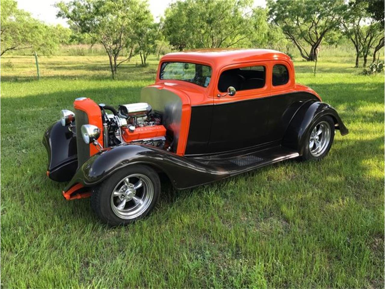 Large Picture of Classic '33 Chevrolet 5-Window Coupe located in Fredericksburg Texas - $38,500.00 Offered by Street Dreams Texas - Q2RJ