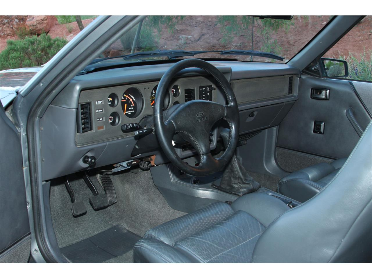 Large Picture of '86 Mustang SVO - Q2SN
