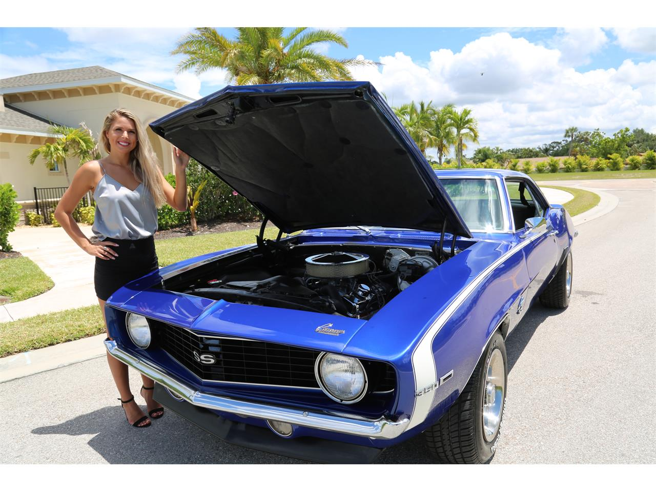 Large Picture of Classic 1969 Camaro SS located in Fort Myers Florida Offered by Muscle Cars For Sale Inc. - Q2T7