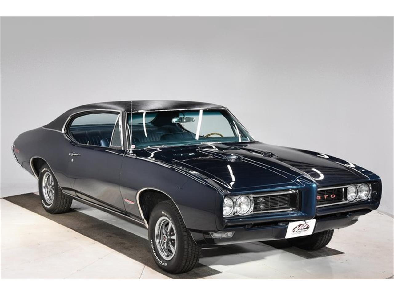 Large Picture of Classic '68 Pontiac GTO located in Illinois Offered by Volo Auto Museum - Q2W4
