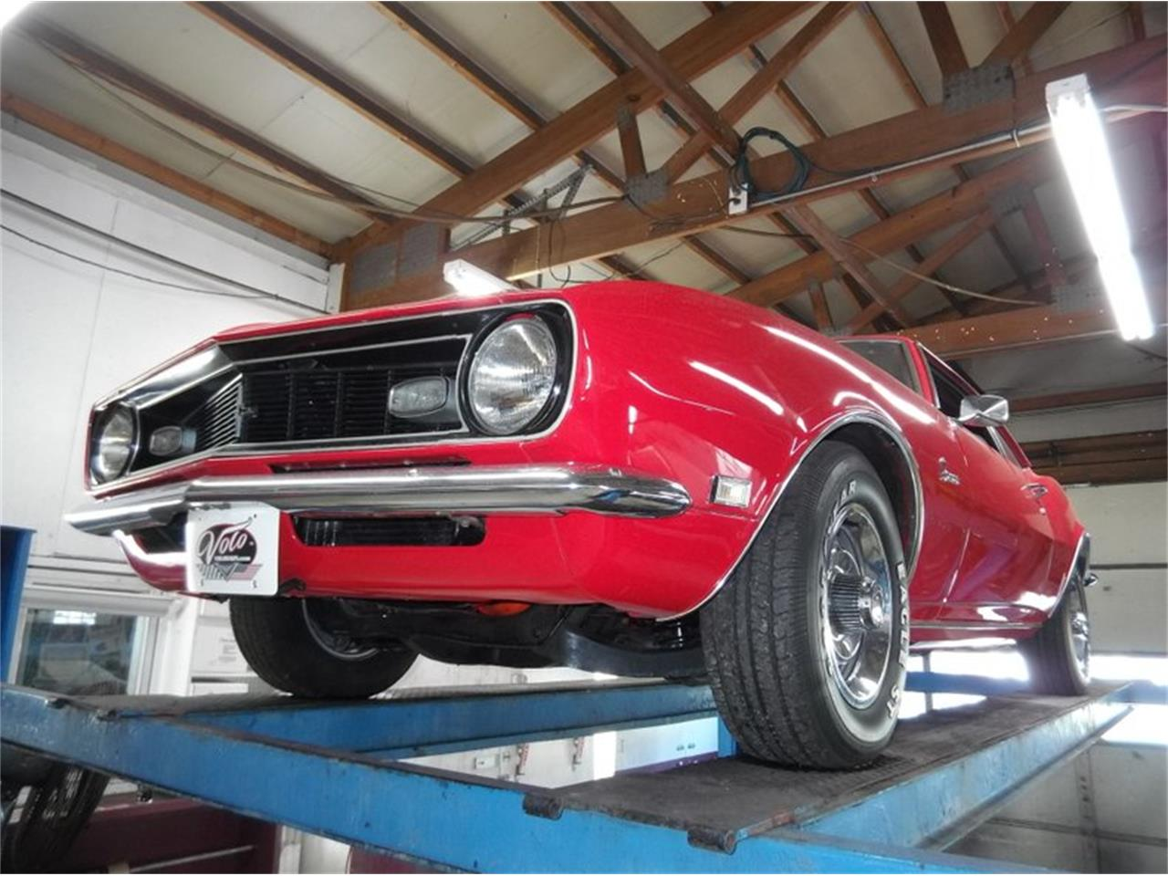 Large Picture of '68 Chevrolet Camaro located in Volo Illinois - $31,998.00 Offered by Volo Auto Museum - Q2WA