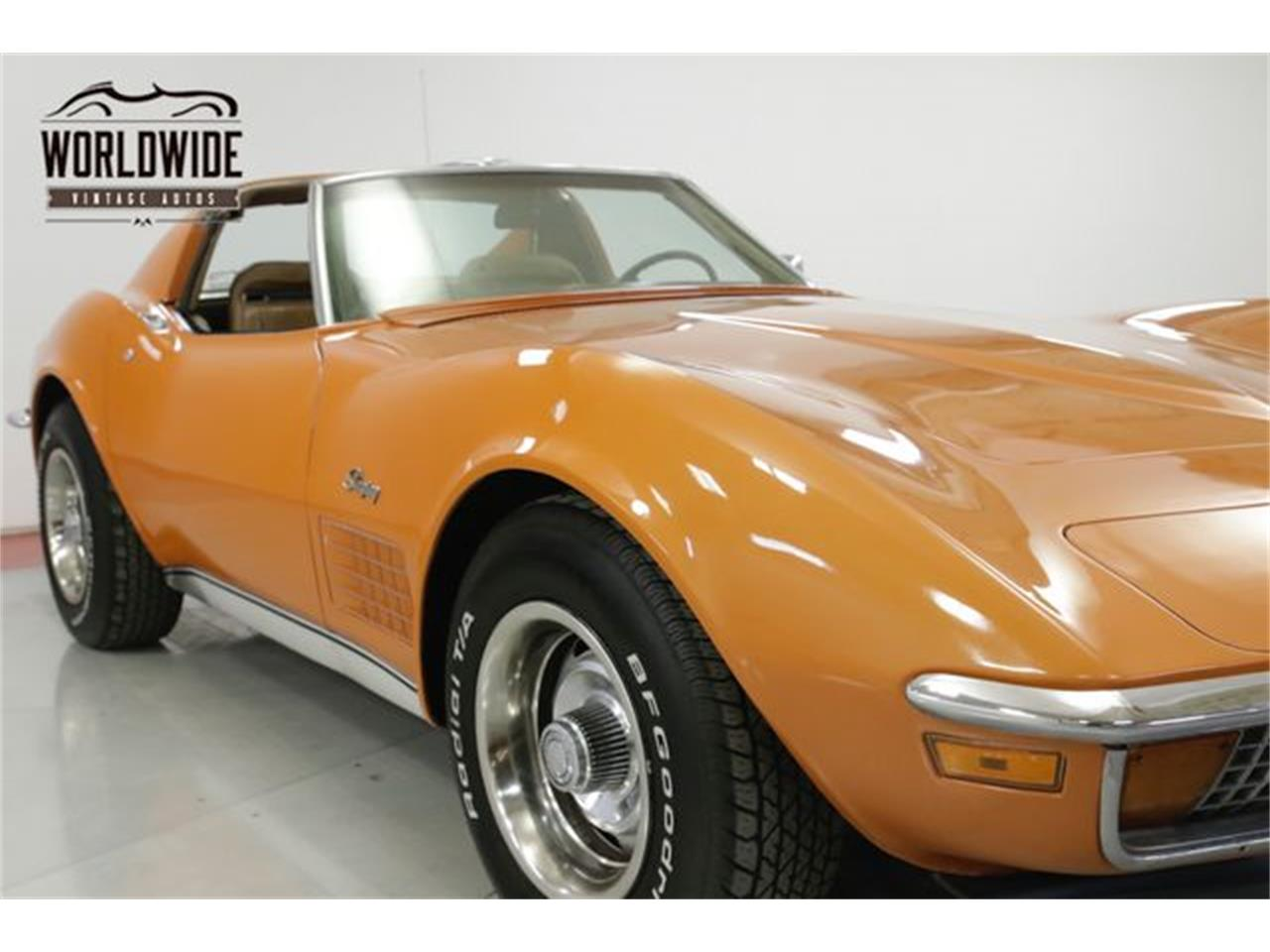 Large Picture of '72 Chevrolet Corvette located in Denver  Colorado Offered by Worldwide Vintage Autos - Q2WG