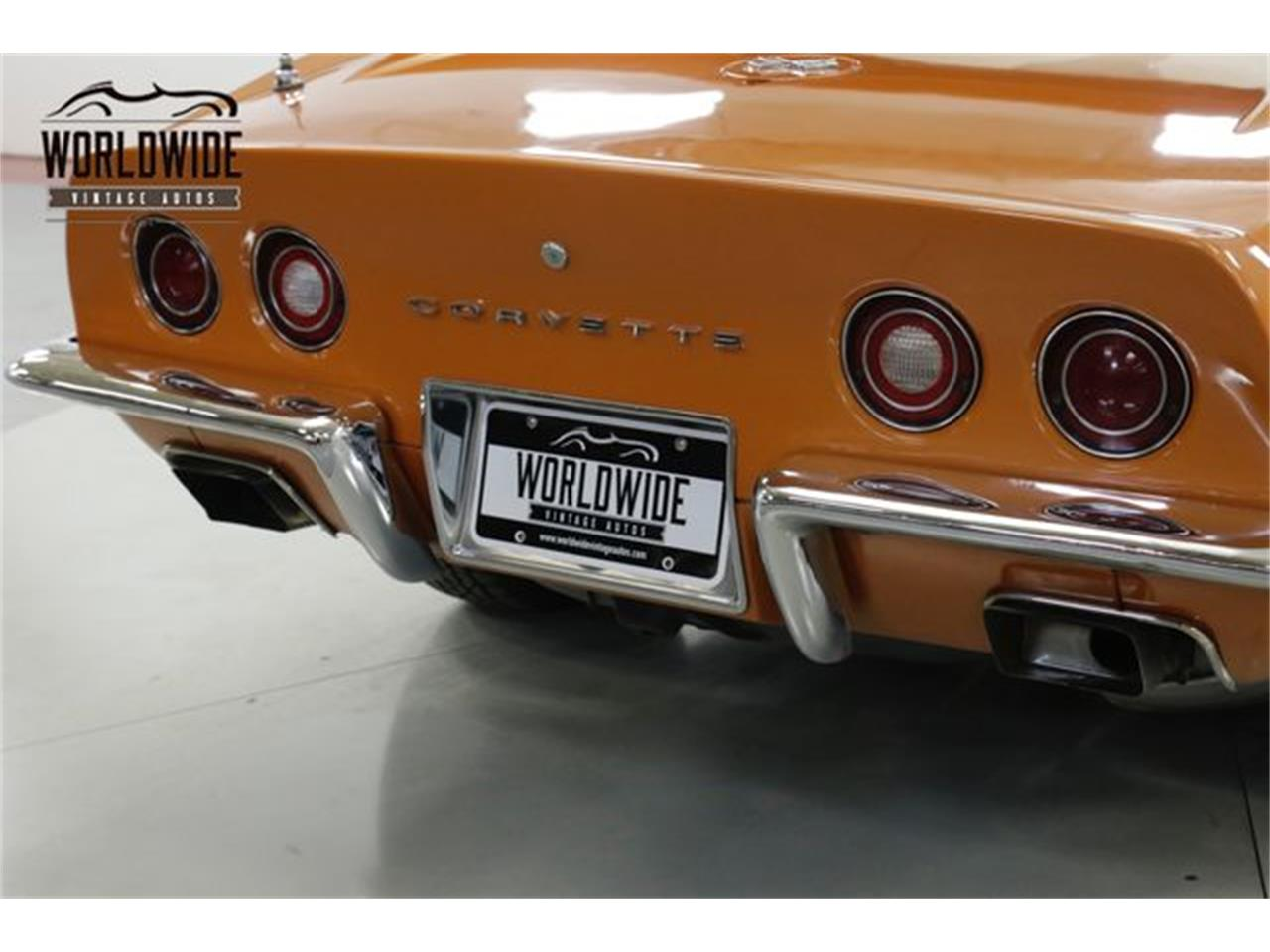 Large Picture of Classic 1972 Chevrolet Corvette located in Colorado Offered by Worldwide Vintage Autos - Q2WG