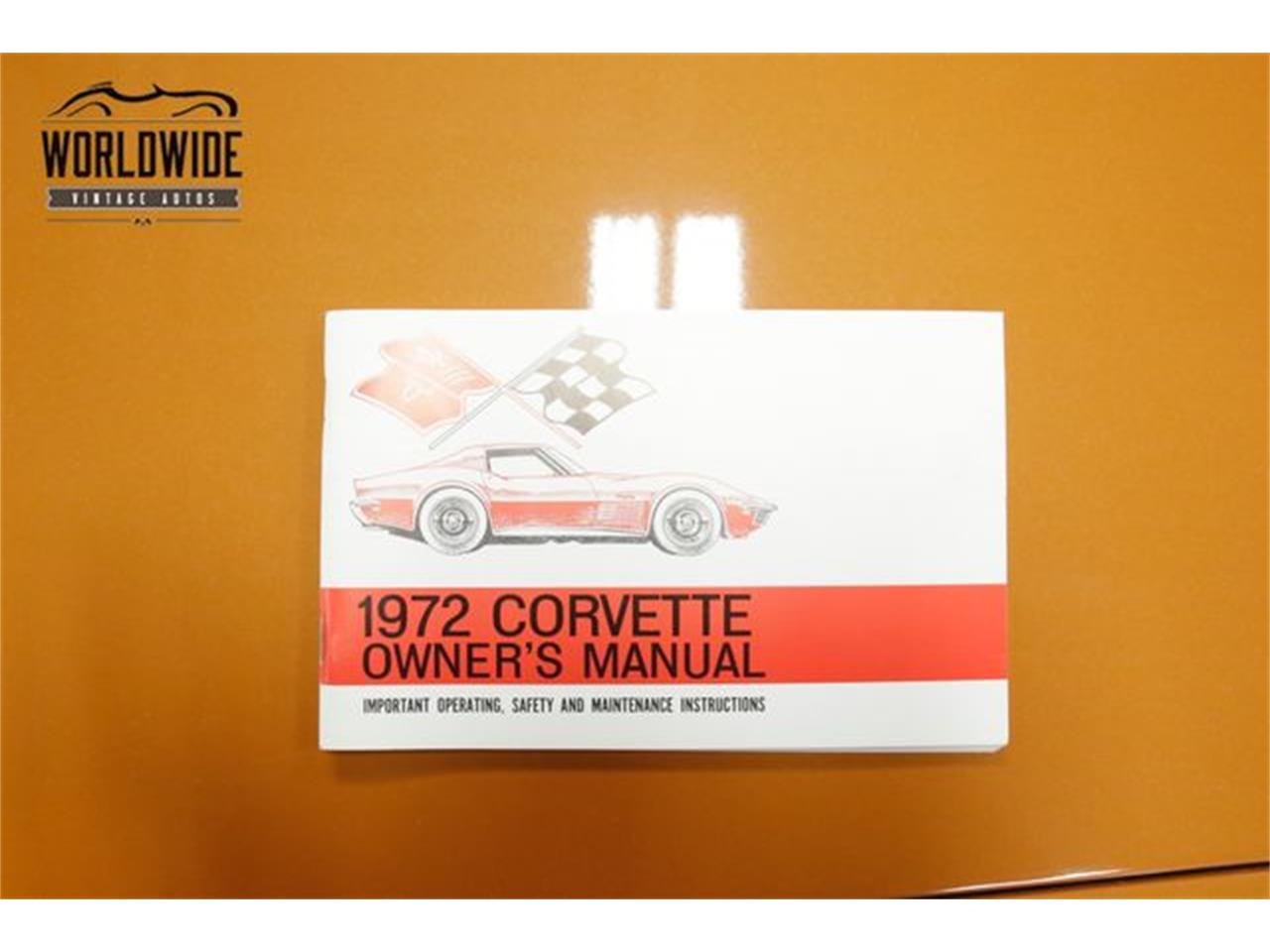 Large Picture of 1972 Corvette Offered by Worldwide Vintage Autos - Q2WG