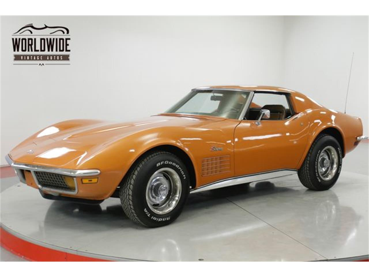 Large Picture of Classic 1972 Corvette located in Denver  Colorado - $25,900.00 Offered by Worldwide Vintage Autos - Q2WG