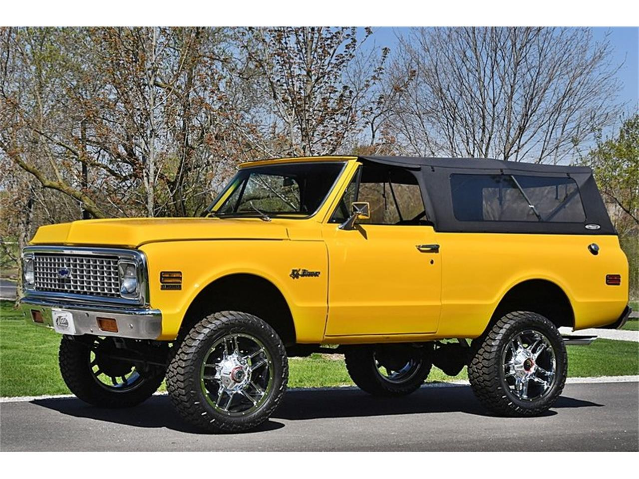 Large Picture of '71 Chevrolet Blazer located in Illinois - $43,998.00 Offered by Volo Auto Museum - Q2WH