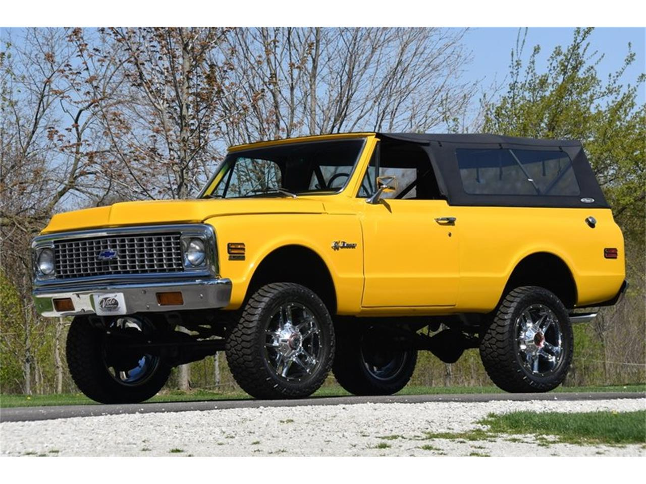 Large Picture of Classic 1971 Chevrolet Blazer - $43,998.00 Offered by Volo Auto Museum - Q2WH