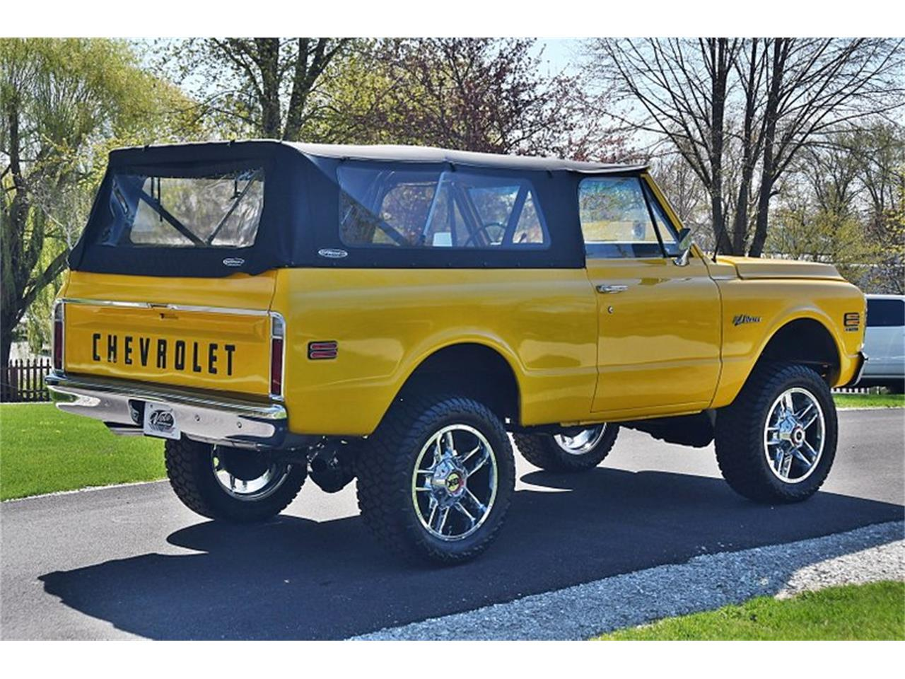 Large Picture of Classic 1971 Blazer located in Volo Illinois Offered by Volo Auto Museum - Q2WH