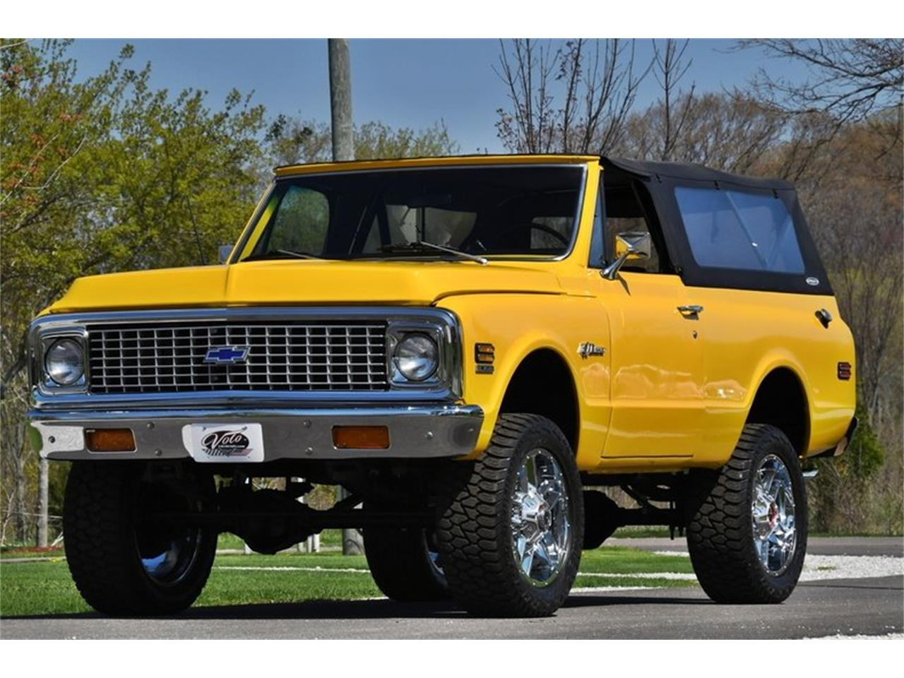 Large Picture of 1971 Chevrolet Blazer Offered by Volo Auto Museum - Q2WH