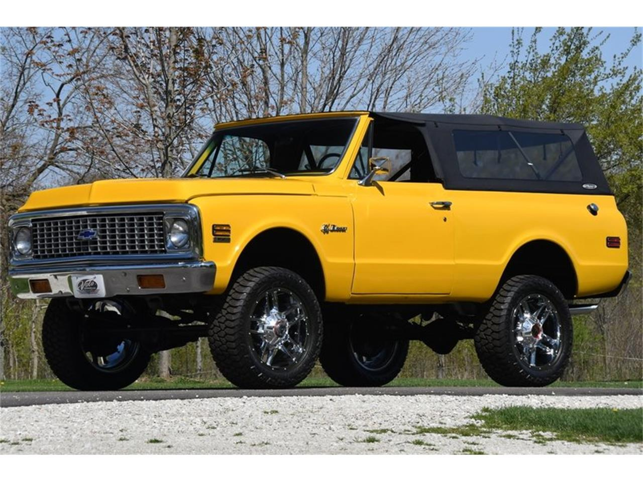 Large Picture of Classic 1971 Chevrolet Blazer located in Volo Illinois Offered by Volo Auto Museum - Q2WH