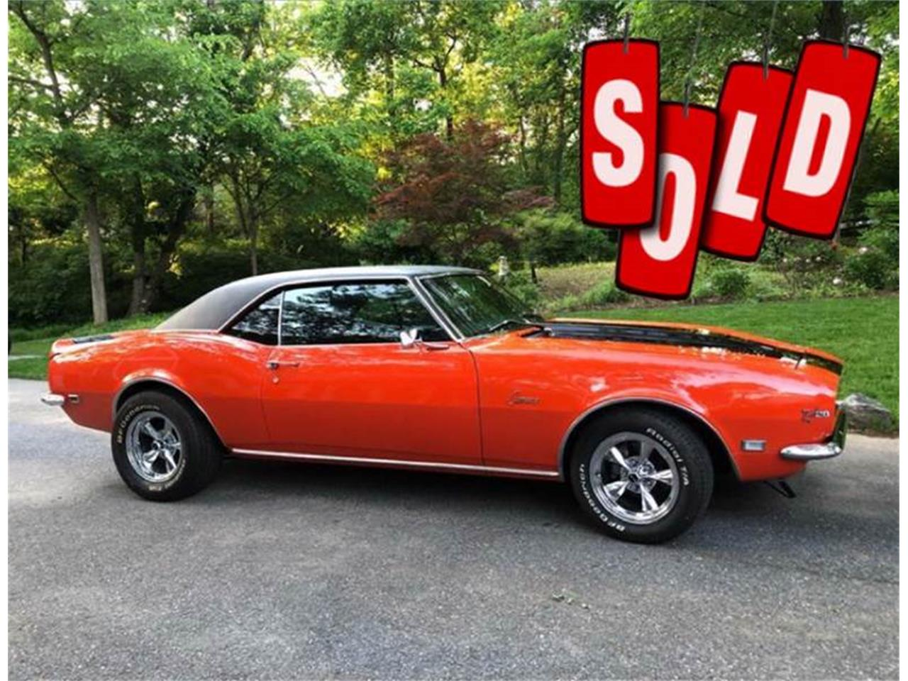 Large Picture of 1968 Chevrolet Camaro located in Maryland - $29,900.00 - Q2XX