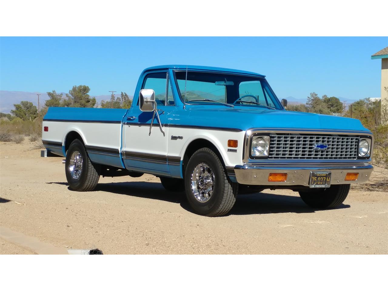 For Sale: 1971 Chevrolet C20 in Ridgecrest, California