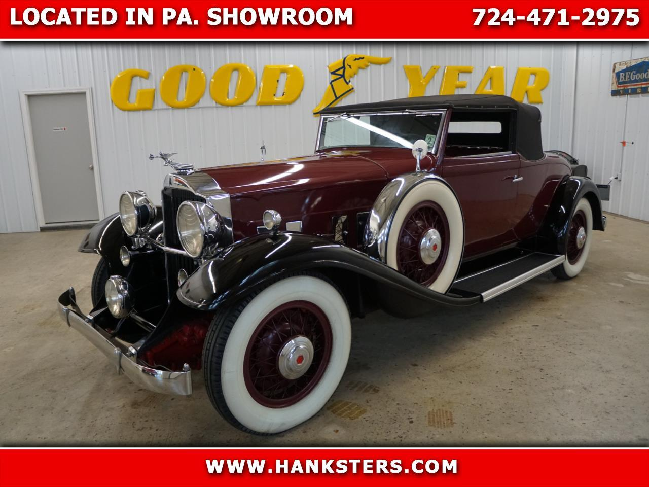Large Picture of '32 Packard Standard Eight located in Homer City Pennsylvania Offered by Hanksters Hot Rods - Q33P