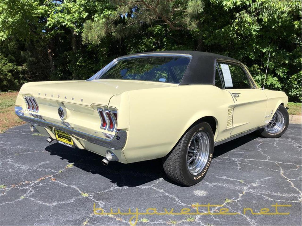 Large Picture of Classic '67 Ford Mustang located in Georgia - $33,999.00 Offered by Buyavette - Q34D