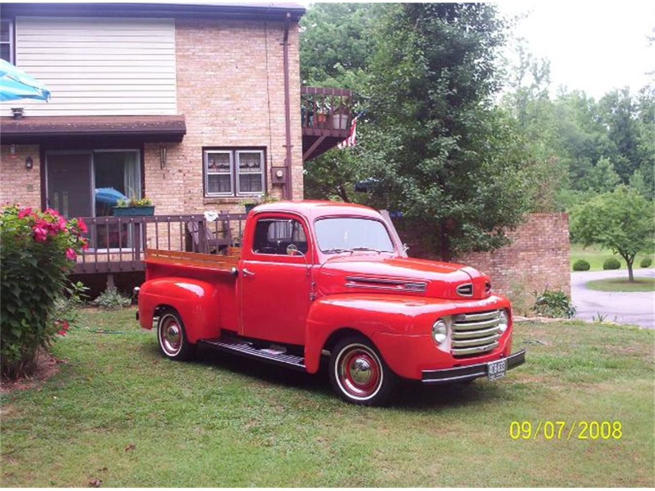 Large Picture of Classic '50 Ford Pickup located in Cadillac Michigan - $40,995.00 Offered by Classic Car Deals - PY6X
