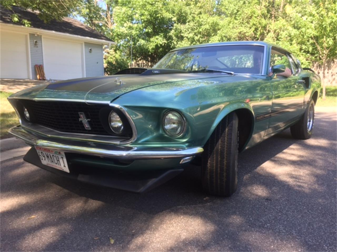 For sale 1969 ford mustang mach 1 in weston wisconsin