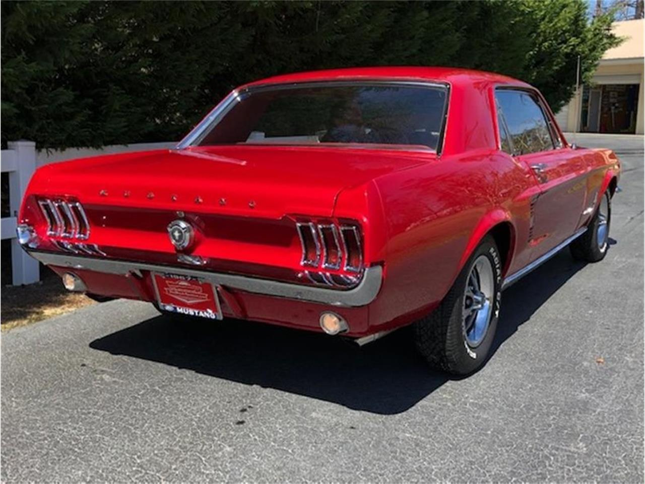 Large Picture of '67 Mustang - Q38T