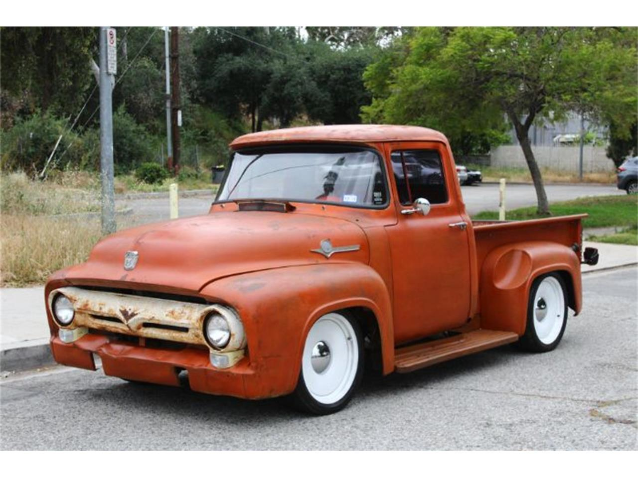 Large Picture of '56 Ford F100 located in Cadillac Michigan Offered by Classic Car Deals - Q3AZ