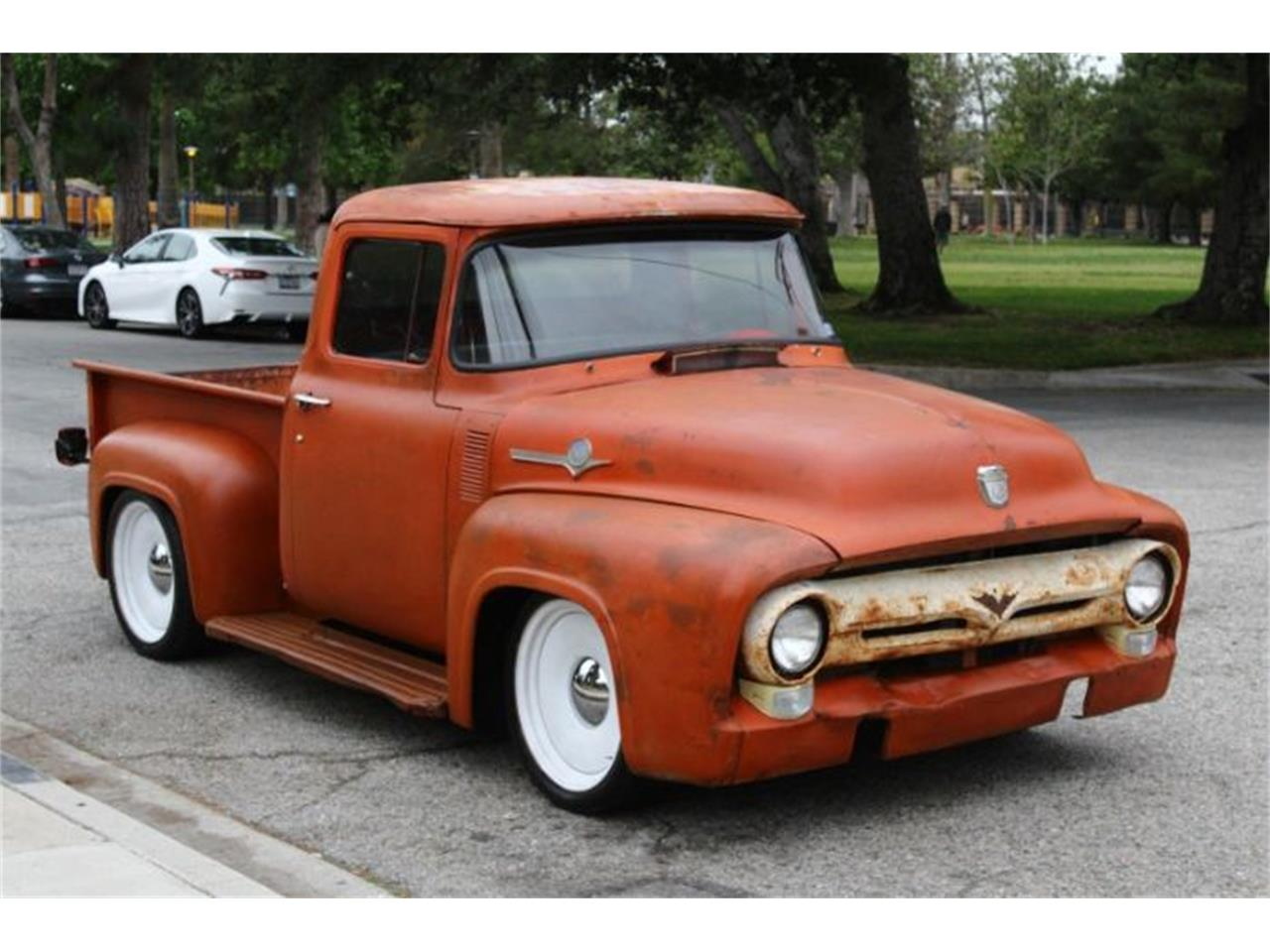 Large Picture of Classic 1956 F100 located in Michigan Offered by Classic Car Deals - Q3AZ