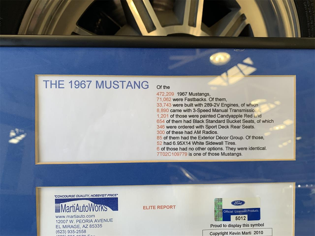 Large Picture of '67 Mustang - Q3BE