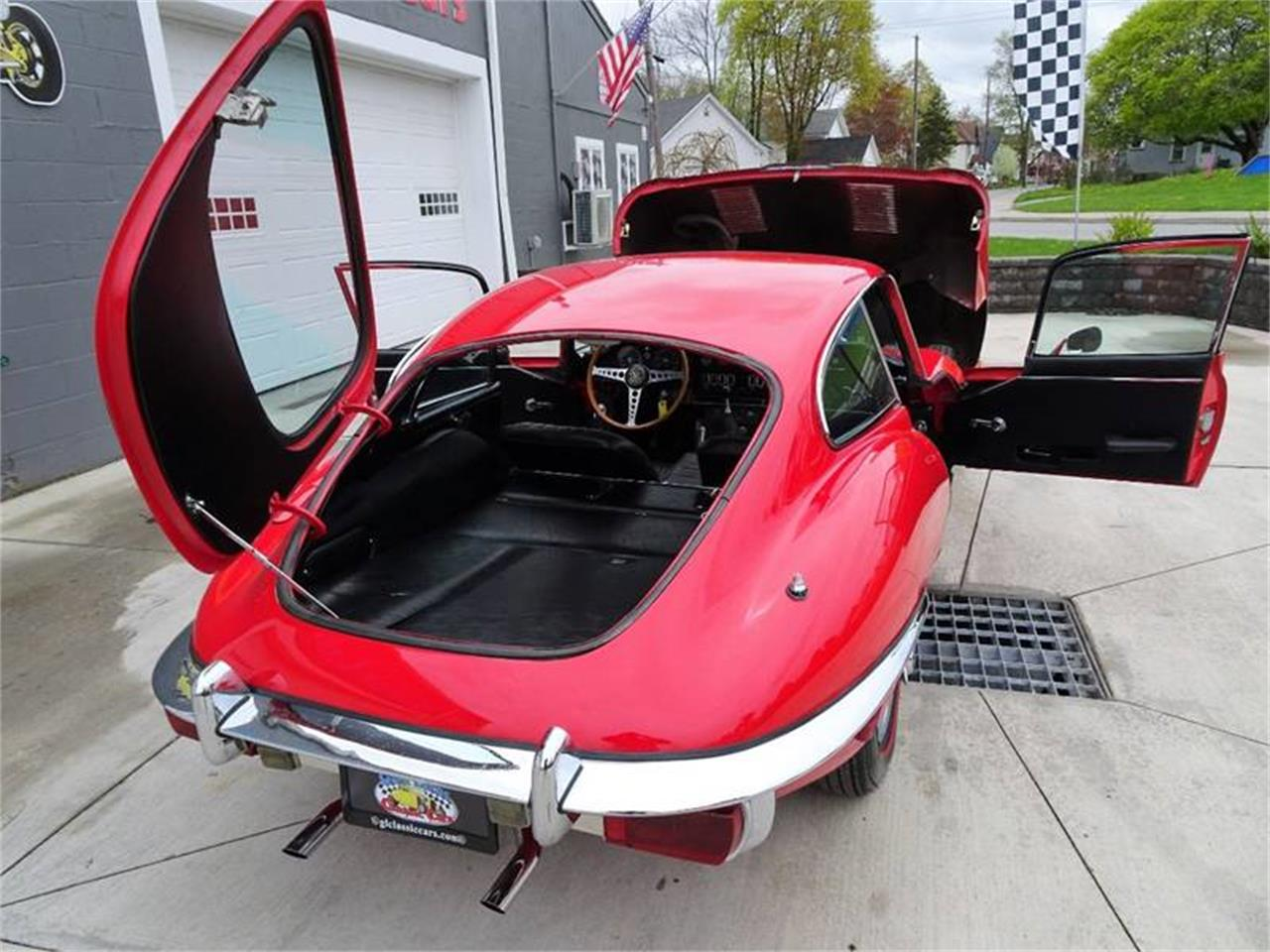 Large Picture of Classic 1969 Jaguar E-Type located in New York Offered by Great Lakes Classic Cars - Q3D7