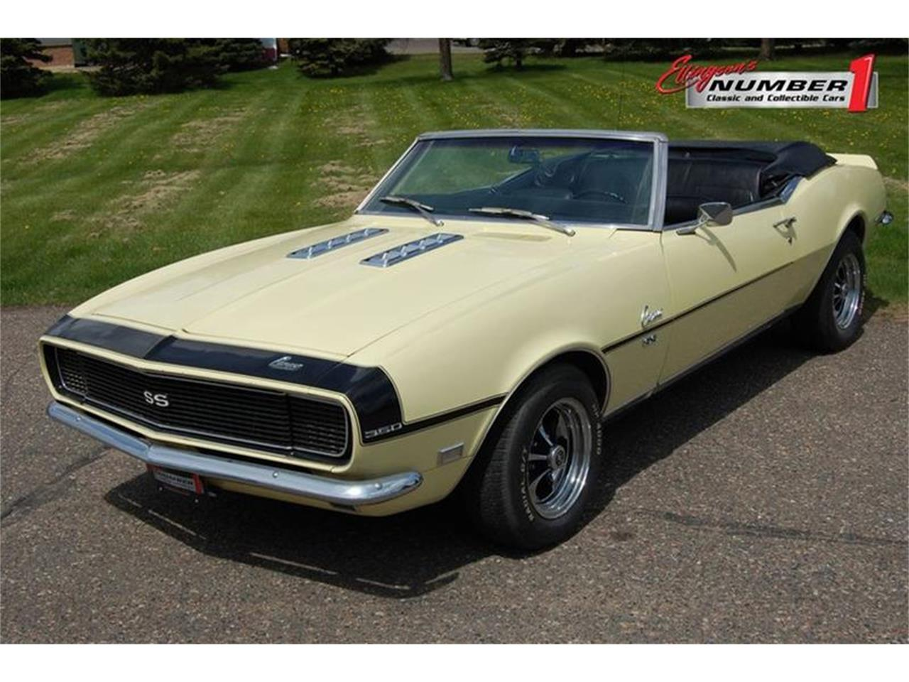 Large Picture of Classic 1968 Camaro located in Rogers Minnesota Offered by Ellingson Motorcars - Q3DB