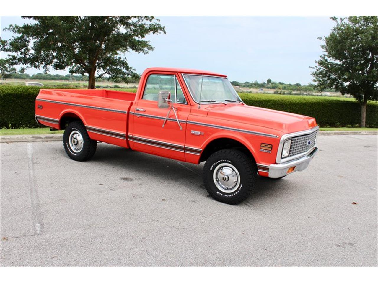 Large Picture of Classic 1971 Chevrolet C10 located in Florida - $27,500.00 Offered by Classic Cars of Sarasota - Q3DK