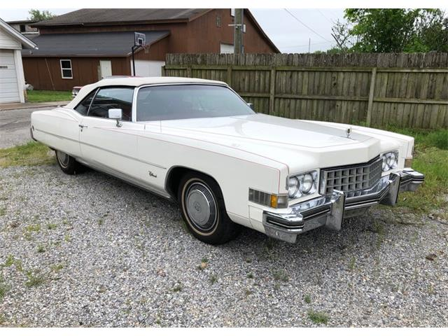 Picture of '73 Cadillac Convertible located in Tulsa Oklahoma Auction Vehicle Offered by  - Q3E8