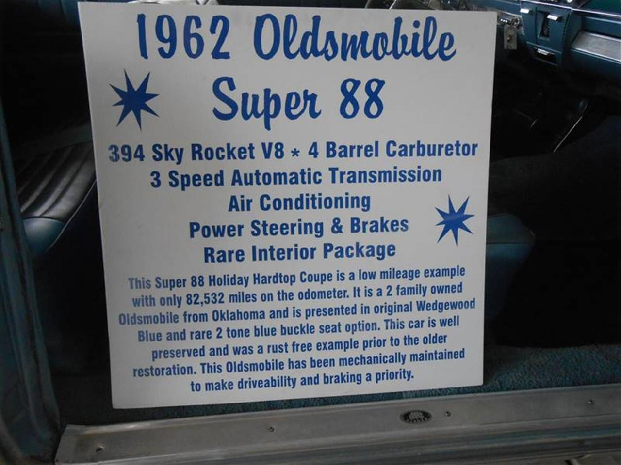 Large Picture of '62 Super 88 - PY81