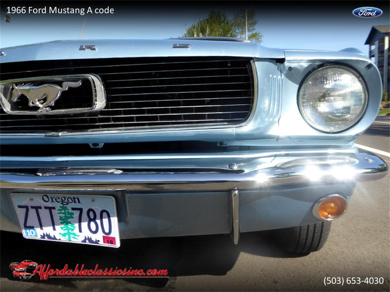 Large Picture of '66 Mustang - Q3ID
