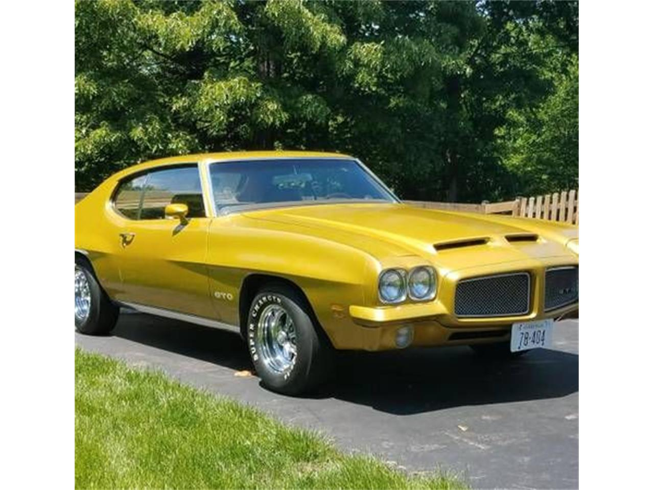 Large Picture of '71 GTO - PY8D