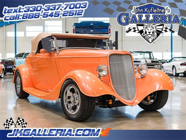 Picture of Classic 1933 Roadster located in Ohio - $36,800.00 Offered by  - Q3LB