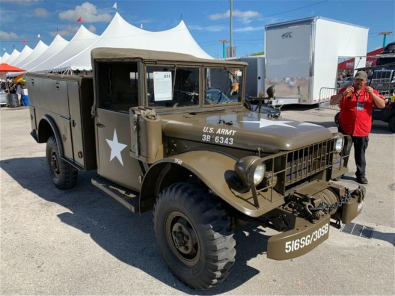 Large Picture of '61 Dodge M-37 located in Cadillac Michigan Offered by Classic Car Deals - PY8M
