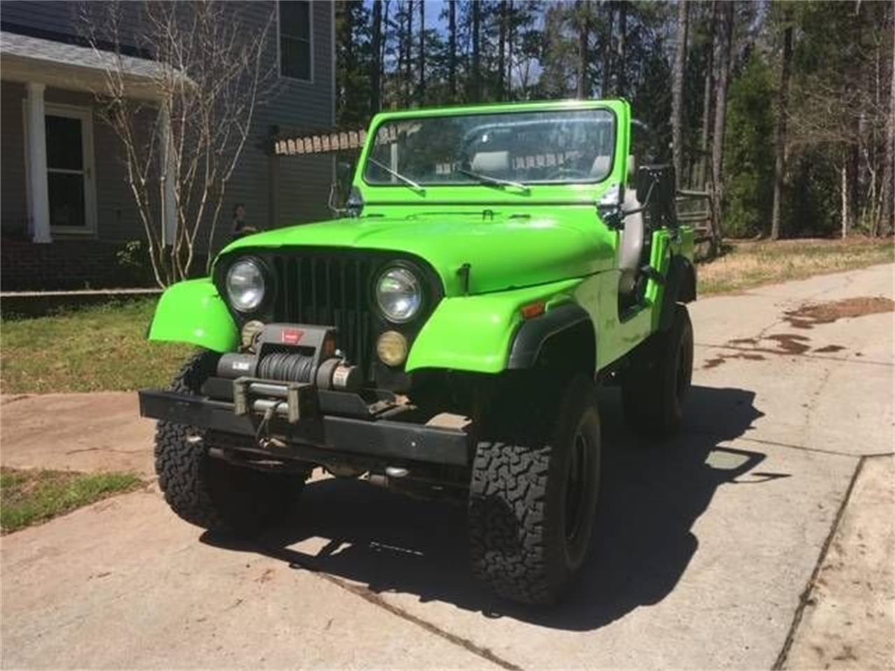 Large Picture of '78 CJ7 - PY8Z