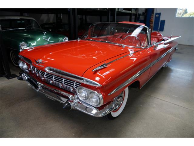 1959 Chevrolet Impala For Sale On Classiccars Com On